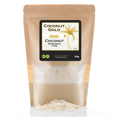 shredded coconut - fine